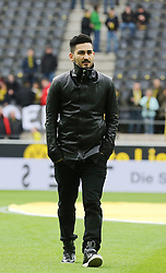 15.02.2014, Signal Iduna Park, Dortmund, GER, 1. FBL, Borussia Dortmund vs Eintracht Frankfurt, 21. Runde, im Bild Ilkay Guendogan (Borussia Dortmund #8) // during the German Bundesliga 21th round match between Borussia Dortmund and Eintracht Frankfurt at the Signal Iduna Park in Dortmund, Germany on 2014/02/15. EXPA Pictures © 2014, PhotoCredit: EXPA/ Eibner-Pressefoto/ Schueler<br /> <br /> *****ATTENTION - OUT of GER*****