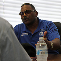 Before making a motion for Howard's pay cut, Ward 3 Alderman David Ewing says the mayor's lack of coming to work at City Hall is the reasoning for the action.