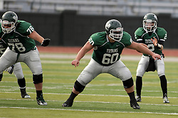 15 November 2014:  Niall Mulcahy during an NCAA division 3 football game between the North Park Vikingsand the Illinois Wesleyan Titans in Tucci Stadium on Wilder Field, Bloomington IL