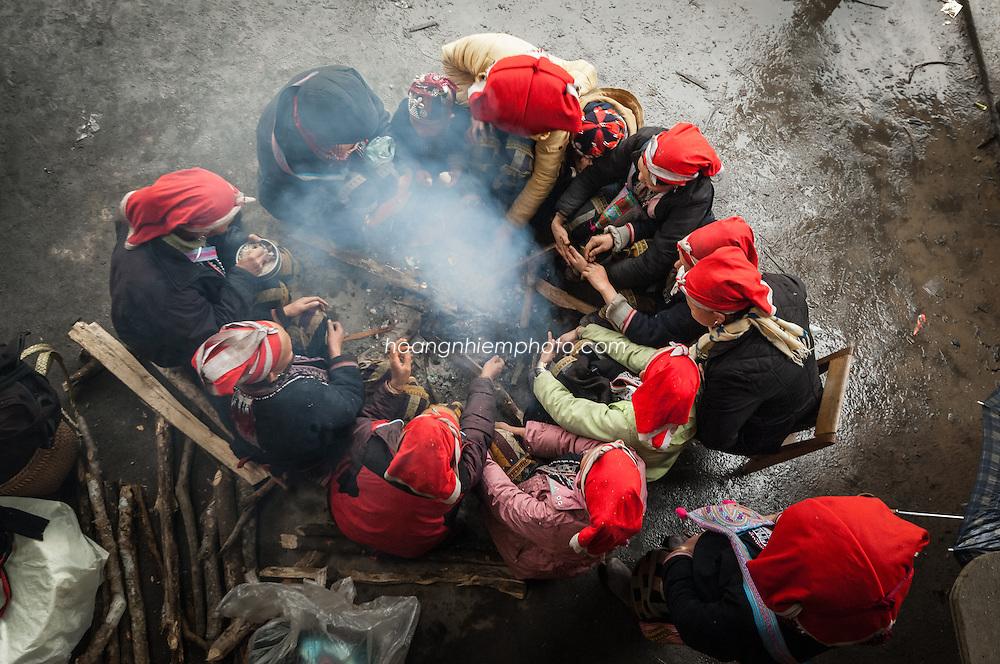 Vietnam images- minority people-Sapa hoàng thế nhiệm