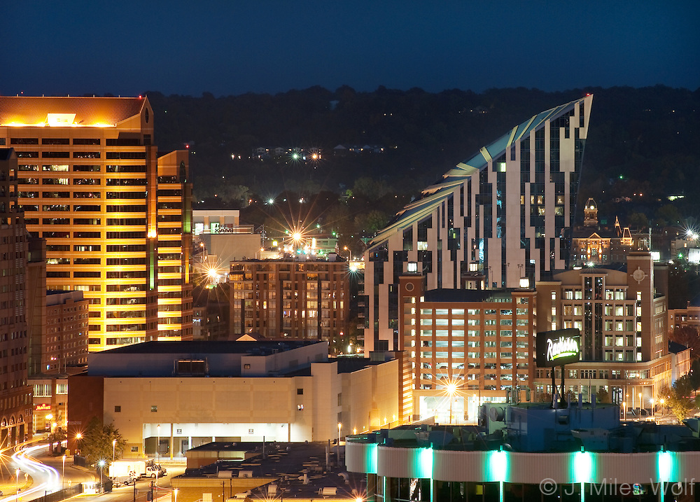 Covington Kentucky Skyline
