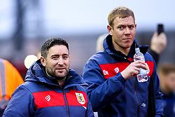 Bristol City head coach Lee Johnson and Bristol City assistant head coach Dean Holden - Mandatory by-line: Robbie Stephenson/JMP - 19/01/2019 - FOOTBALL - The City Ground - Nottingham, England - Nottingham Forest v Bristol City - Sky Bet Championship