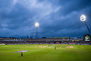 Edgbaston under the floodlights during the 2016 NatWest T20 Final match between Northamptonshire County Cricket Club and Durham County Cricket Club at Edgbaston, Birmingham, United Kingdom on 20 August 2016. Photo by David Vokes.