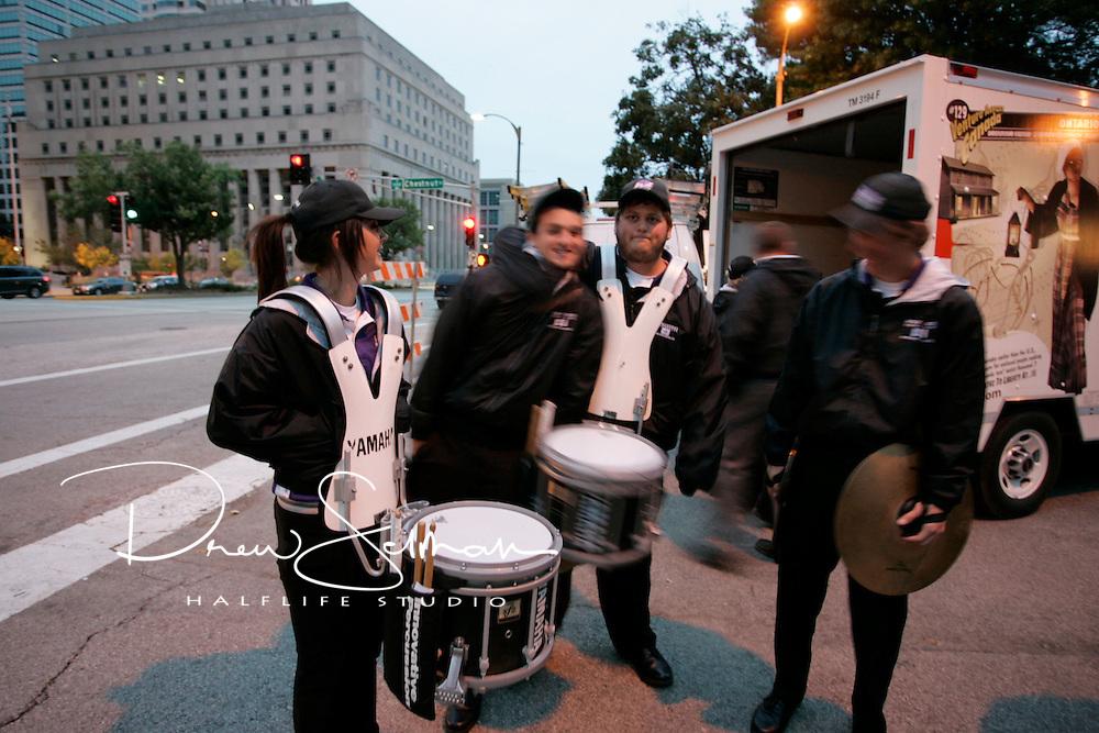 Pedal the Cause 2012.Veterans Memorial.St. Louis, MO.07-OCT-2012..Credit: Andrew Selman / Halflife Studio