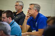 Conference attendees listen in a workshop during the 2017 Institute on Liturgy, Preaching and Church Music on Tuesday, July 25, 2017, at Concordia University Chicago in River Forest, Ill. LCMS Communications/Erik M. Lunsford