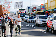 Waipuk - Don't Damn the Dam protest