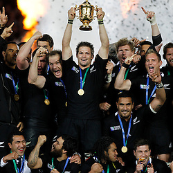 October 23, 2011 World Cup final New Zealand v France