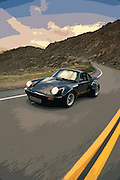 Image of a Porsche 911 on a curvy road