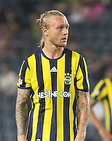Turkey superlig match between Fenerbahce and Kayserispor at Ulker Stadium in Istanbul , Turkey , August 28 , 2016.<br /> Pictured: Simon Kjaer of Fenerbahce.