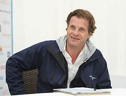 LIVERPOOL, ENGLAND - Thursday, June 21, 2012: Tournament Director Anders Borg during a press conference on the opening day of the Medicash Liverpool International Tennis Tournament at Calderstones Park. (Pic by David Rawcliffe/Propaganda)