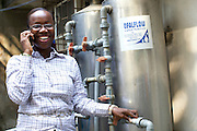 Idorenyin Samual runs 'Doren Water', which produces sachets of purified drinking water.<br /> <br /> Idorenyn (Doren) recently attended the business training workshop run by Youth for Technology and also signed up to the business support text message service.<br /> <br /> She found them useful to learn about customer management and bookkeeping.