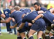 Twickenham, United Kingdom, Billy VUNIPOLA, pre game, 2013 QBE Autumn Rugby International, England vs New Zealand, played  Saturday  16/11/2013 at the RFU Stadium Twickenham, England. [Mandatory Credit: Peter Spurrier/Intersport<br /> Images}