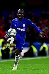 Ngolo Kante of Chelsea - Mandatory by-line: Ryan Hiscott/JMP - 10/12/2019 - FOOTBALL - Stamford Bridge - London, England - Chelsea v Lille - UEFA Champions League group stage