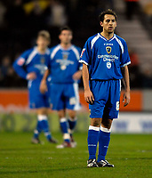 Photo: Jed Wee.<br />Hull City v Cardiff City. Coca Cola Championship. 16/12/2006.<br /><br />The body language of Cardiff's Michael Chopra (R) and his other team mates gets steadily worse as they endure a nightmare first half.