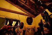 Jaboticatubas_MG, Brasil...Grupo da Folia de Reis de Sao Jose da Serra, em uma casa casa da comunidade de Bom Jardim...The Folia de Reis group of Sao Sao Jose da Serra, in a house in Bom Jardim community...FOTO: BRUNO MAGALHAES / NITRO