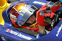 Patrick Carpentier at the Kentucky Speedway, Kentucky Indy 300, August 14, 2005