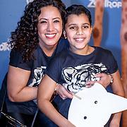 NLD/Amsterdam/20160213 - Premiere Zootropolis, Aicha Margadi en Kenza