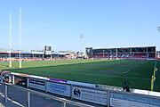 General ground view during the Aviva Premiership match between Gloucester Rugby and Wasps at the Kingsholm Stadium, Gloucester, United Kingdom on 24 February 2018. Picture by Alan Franklin.