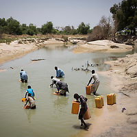 The Komadougou Yobé river forms a natural border between Nigeria and Niger. It also marks the dividing line between the rebels in north-eastern Nigeria and the people of Niger.