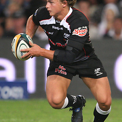 DURBAN, SOUTH AFRICA - MAY 08: Patrick Lambie  <br /> during the Super 14 match between Sharks and Vodacom Stormers from Absa Stadium on May 08, 2010 in Durban, South Africa.<br /> Photo by Steve Haag / Gallo Images