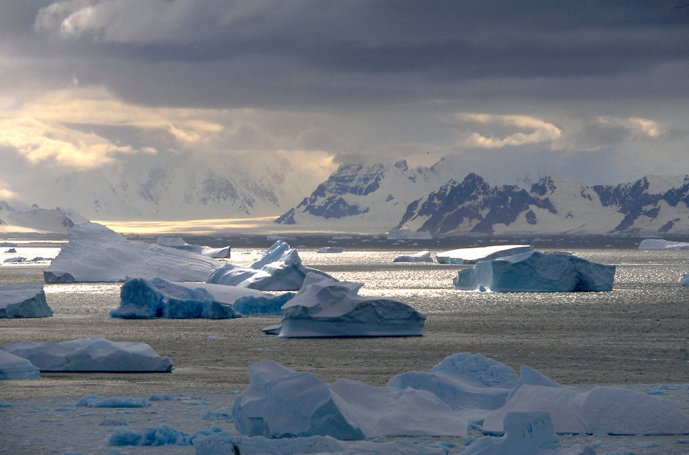 Icebergs in Antarctica Accession #: 0.97.081.003.15