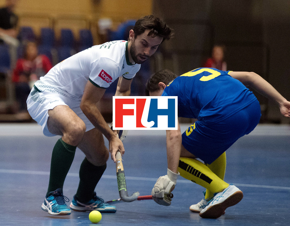 BERLIN - Indoor Hockey World Cup<br /> Kazakhstan - South Africa<br /> foto: <br /> WORLDSPORTPICS COPYRIGHT FRANK UIJLENBROEK