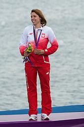 2012 Olympic Games London / Weymouth<br /> RSX Medal Ceremonies<br /> Noceti-Klepacka Zofia, (POL, RS:X Women)
