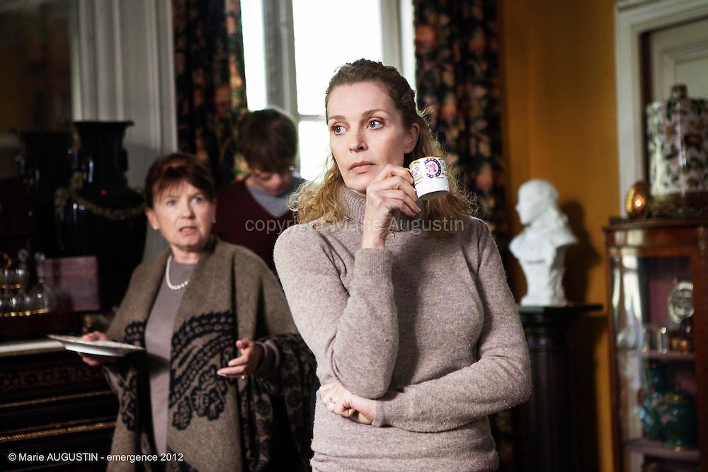 """Geneviève MNICH et Isabelle RENAULD - tournage scène libre """"Paris-Brest"""" de Benoît BOURREAU - emergence 2012"""