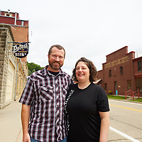2016 UWL Alumni Jen and Steve McCoy, Potosi Brewery / Bottle House Gifts