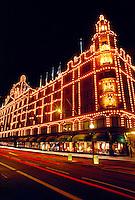 Harrod's Department Store, Knightsbridge, London, England.