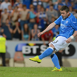 St Johnstone v Luzern | Europa League | 24 July 2014