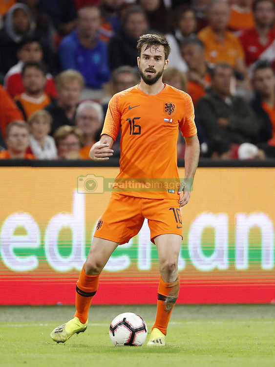 Davy Propper of Holland during the International friendly match match between The Netherlands and Peru at the Johan Cruijff Arena on September 06, 2018 in Amsterdam, The Netherlands