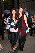CLAIRE MERRY; DEE MURRAY, Dirty Pretty Things - summer party. Lingerie line hosts  party celebrating its new online shop and showcasing the latest collection. The Lingerie Collective, 8 Ganton Street, Soho. London, 15 June 2011<br /> <br />  , -DO NOT ARCHIVE-© Copyright Photograph by Dafydd Jones. 248 Clapham Rd. London SW9 0PZ. Tel 0207 820 0771. www.dafjones.com.