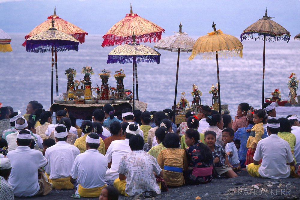 Processional at Beach