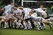 Twickenham, GREAT BRITAIN, Bath's srum half, Michael CLAASSENS,  during the Guinness Premiership match, Harlequins vs Bath Rugby at the Twickenham Stoop.  Sun. 16th Feb 2008. 16.03.2008.  [Mandatory Credit, Peter Spurrier/Intersport-images]