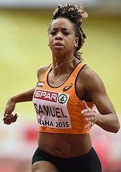 07-03-2015 CZE: European Athletics Indoor Championships, Prague<br /> Jamilie Samuel NED