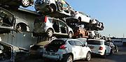 Old Cars in a scrap yard