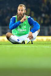 27.09.2015, Signal Iduna Park, Dortmund, GER, 1. FBL, Borussia Dortmund vs SV Darmstadt 98, 7. Runde, im Bild Marco Sailer (SV Darmstadt 98 #7) // during the German Bundesliga 7th round match between Borussia Dortmund and SV Darmstadt 98 at the Signal Iduna Park in Dortmund, Germany on 2015/09/27. EXPA Pictures © 2015, PhotoCredit: EXPA/ Eibner-Pressefoto/ Schueler<br /> <br /> *****ATTENTION - OUT of GER*****