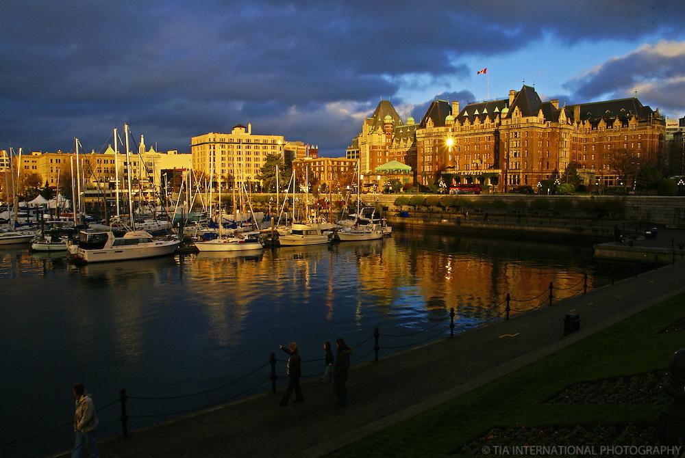 Empress Hotel & Victoria Harbour, British Columbia, Canada