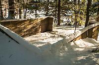 St Paul's School walking trails after a fresh snow.  © 2013 Karen Bobotas Photographer