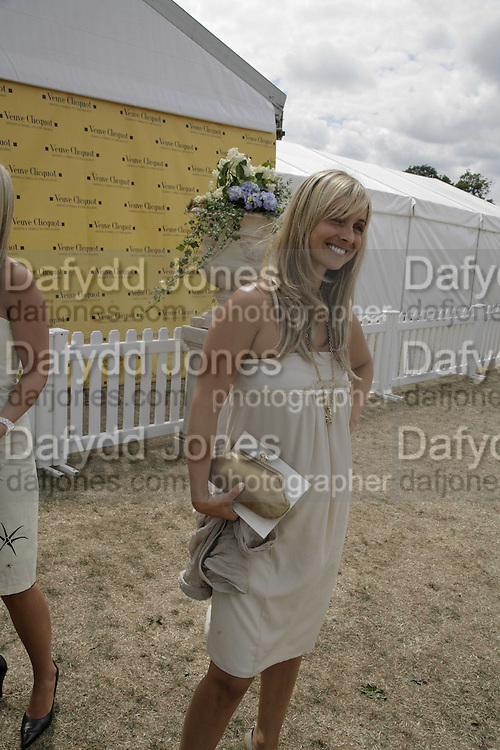 Louise Redknap, Veuve Clicquot Gold Cup 2006. Final day. 23 July 2006. ONE TIME USE ONLY - DO NOT ARCHIVE  © Copyright Photograph by Dafydd Jones 66 Stockwell Park Rd. London SW9 0DA Tel 020 7733 0108 www.dafjones.com