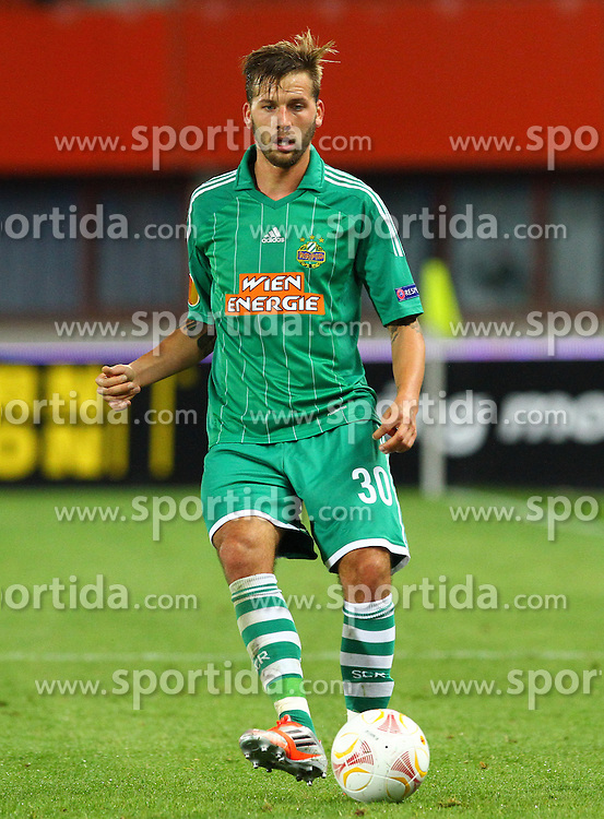 20.09.2012, Ernst Happel Stadion, Wien, AUT, UEFA Europa League, SK Rapid Wien vs Rosenborg Trondheim, Gruppe K, im Bild Guido Burgstaller, (SK Rapid Wien, #30)  // during the UEFA Europa League group K match between SK Rapid Vienna and Rosenborg Trondheim at the Ernst Happel Stadion, Vienna, Austria on 2012/09/20. EXPA Pictures © 2012, PhotoCredit: EXPA/ Thomas Haumer