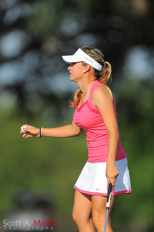 Taylor Collins during the second round of the Symetra Tour's Florida's Natural Charity Classic at the Lake Region Yacht and Country Club on March 24, 2012 in Winter Haven, Fla. ..©2012 Scott A. Miller.