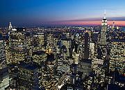 View of Manhattan from the Rockefeller Center