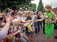 Midwolda ,07-07-2015 <br /> <br /> Queen Maxima opened elderly house het <br /> Hamrik in Midwolda.<br /> <br /> <br /> Royalportraits Europe/Bernard Ruebsamen
