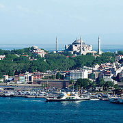 Istanbuls Hagia Sofia and the Topkapi gardens