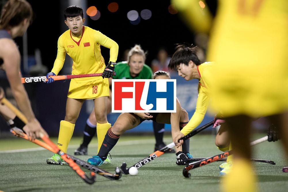 AUCKLAND - Sentinel Hockey World League final women<br /> Match id: 10305<br /> 16 NED v CHina (QF)<br /> Foto: Kelly Jonker.<br /> WORLDSPORTPICS COPYRIGHT FRANK UIJLENBROEK