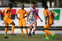 AUBAGNE, FRANCE - Tuesday, May 30, 2017: Bahrain's Sayed Isa Hashim Hashim in action during the Toulon Tournament Group B match between Bahrain and Ivory Coast at the Stade de Lattre-de-Tassigny. (Pic by Laura Malkin/Propaganda)