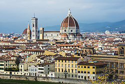 November 9, 2015 - Italy - View Of The Cathedral Of Saint Mary Of The Flower, The Main Church Of Florence; Florence, Tuscany, Italy (Credit Image: © Sergey Orlov/Design Pics via ZUMA Wire)