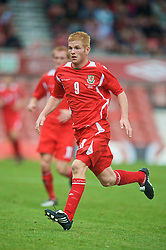 WREXHAM, WALES - Saturday, October 10, 2009: Wales' Marc Williams during the UEFA Under-21 Championship Qualifying Round Group 3 match against Bosnia-Herzegovina at the Racecourse Ground. (Pic by Chris Brunskill/Propaganda)